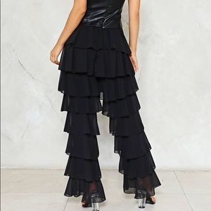 Nasty Gal Pants & Jumpsuits - Nasty Gal Vegan Leather Jumpsuit